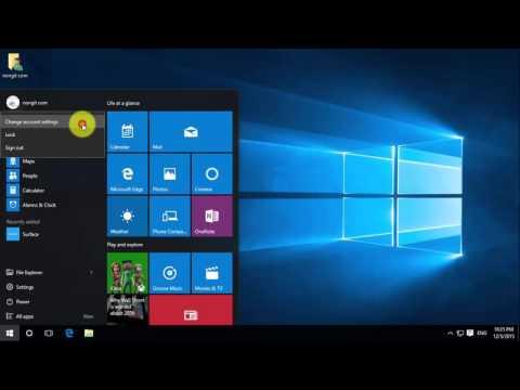 วิธียกเลิก Password Windows 10 (แบบอีเมล์)