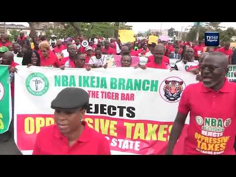 DEJI360 EP 198 Part 4: Lawyers, CSOs protest new Lagos Land Use Charge
