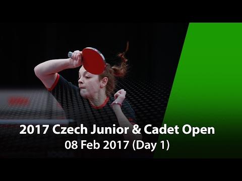 2017 ITTF Czech Junior & Cadet Open - Day 1