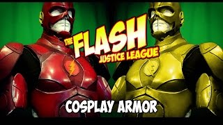 the Flash Justice League Cosplay armor
