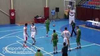 مباراة تونس و الجزائر   اليوم الثاني   البطولة العربية لكرة السلة 18 سنة