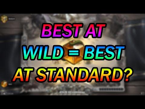 Wild #1 Legend Tries HEROIC TAVERN BRAWL!   Standard Hearthstone