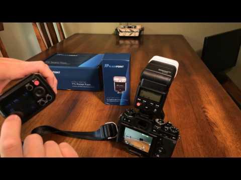 Fuji HSS TTL Finally - Godox / Flashpoint on the XT2 - Off Camera Flash