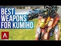 War Robots: BEST Weapons for Kumiho | Gameplay Montage