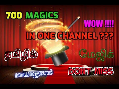 TOP 5 MAGIC TRICKS IN TAMIL I COMPILATION VIDEOS 7@MagicVijay