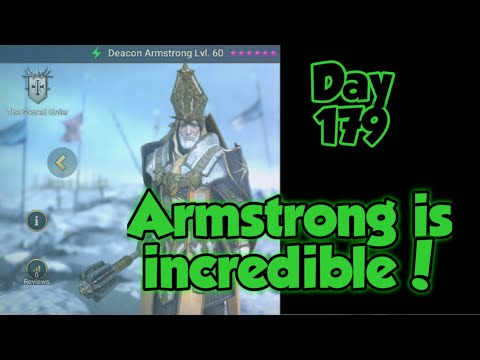 Raid Shadow Legends Day 179: Deacon Armstrong is incredible!