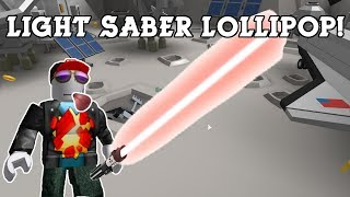 Lightsaber Lolly! [Lollipop Simulator Roblox]