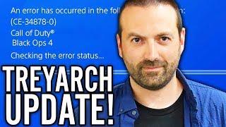 TREYARCH RESPONDED: HUGE BLUESCREEN UPDATE COMING SOON! (Black Ops 4 Zombies)