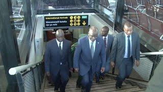 Airport: rais magufuli kaondoka tanzania, aiacha ndege ya rais