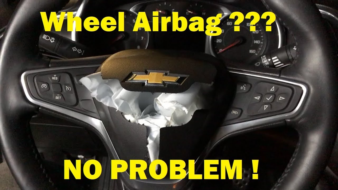 How To Replace Steering Wheel Airbag 2016 Chevy Malibu 2016-2019