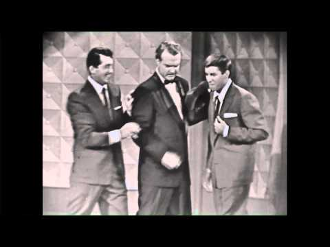 Dean Martin and Jerry Lewis with Red Skelton 1954