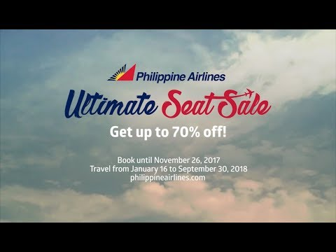 Fly the Way You Deserve and Get Up to 70% Off with PAL's Ultimate Seat Sale