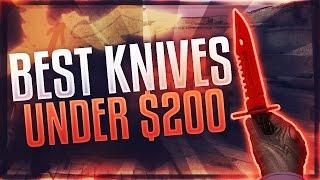 CS:GO - Best Knives Under $200