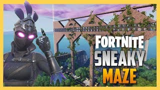 VERY SNEAKY Fortnite Creative Maze from JeffVH | Swiftor