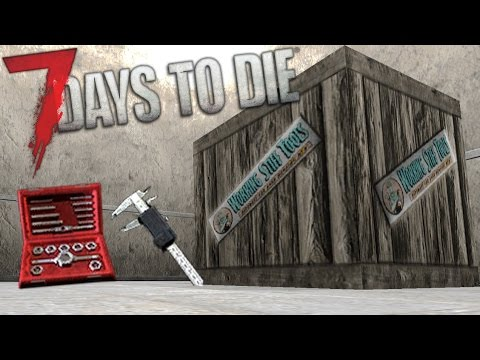 LUCKY SUPPLY RUN | Lets Play 7 Days to Die Part 14 | Calipers & Tool and Die Set | Alpha 15 Gameplay