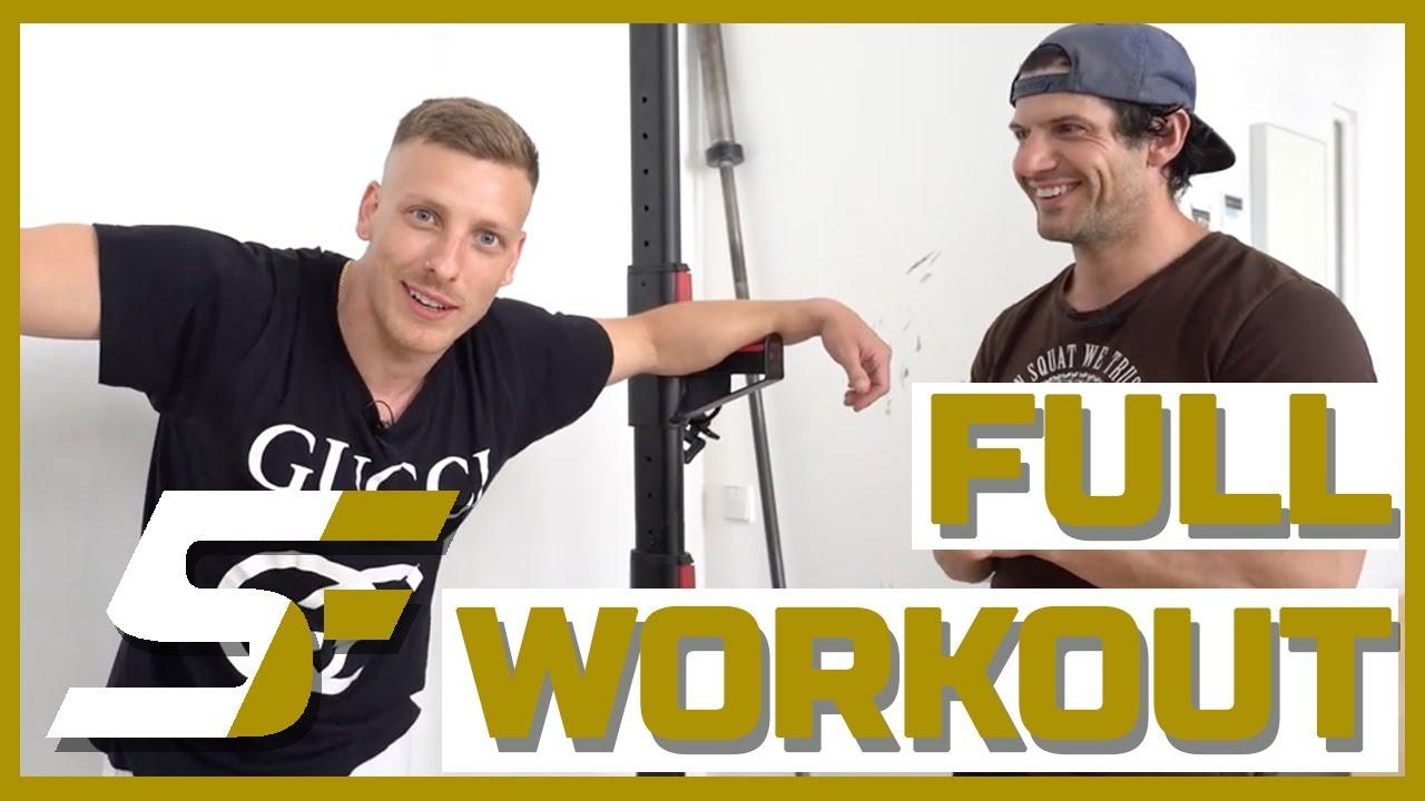 Full Body Workout - Week 9 | Shutdown Fitness by Felix Lobrecht