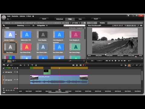 Effekte hinzufügen in Pinnacle Studio 16 und 17 Video 68 von 114