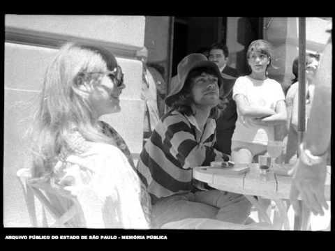 Mick Jagger Keith Richards Anita Pallenberg Marianne Faithfull in Brazil 1968 1969