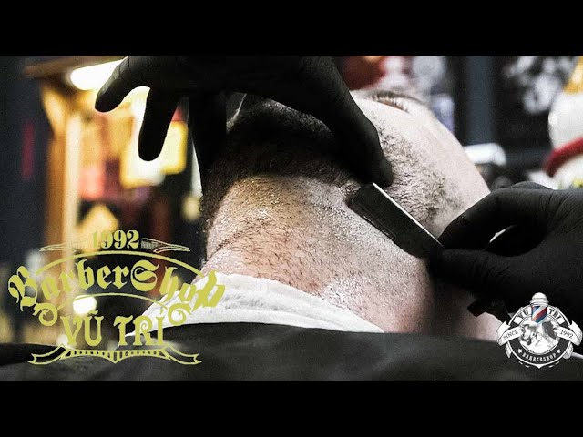 💈 The ULTIMATE VietNam HAIRCUT EXPERIENCE - Since 1992 | RELAXING + FULL SHAVE | Barbershop Vũ Trí