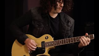 Ilan Rubin of The New Regime and NIN Demos The Gibson Les Paul Special