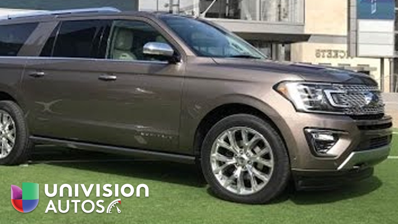 La nueva Ford Expedition 2018 llega para reconquistar gloria pasadas - YouTube