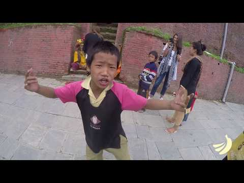 Straight-up Bananas and Pomalo Travel go to Nepal | GoPro travel video