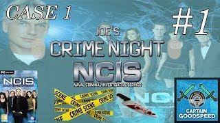 Joe's Crime Night | NCIS: The Game (PC Gameplay) | Case 1 E01: OUR FIRST CASE! | Full Walkthrough