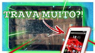 Tablet Multilaser M7s Trava muito?