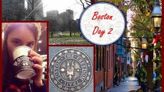 The Freedom Trail & Christmas Candle Haul - Boston Day 2 - Christmas Travel Vlog