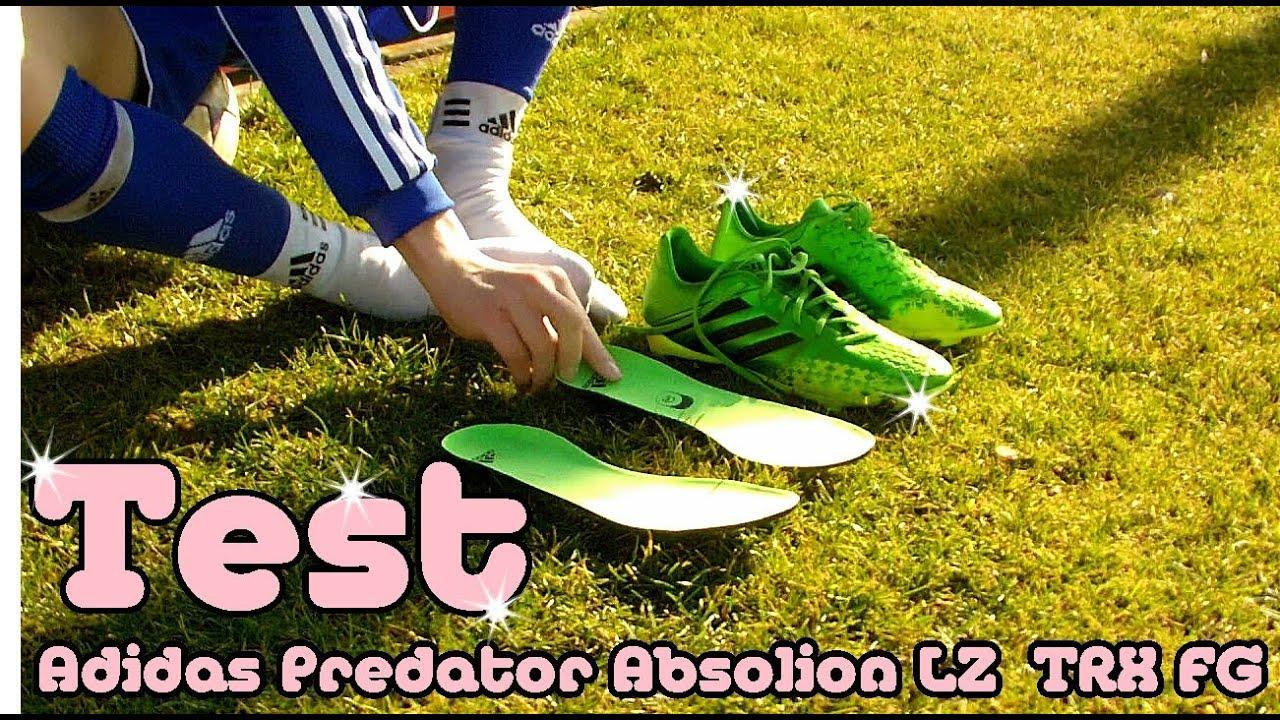 new style cf0ba 7e9ea Test  Adidas Predator Absolion LZ TRX FG - Fernando Torres Fußballschuh