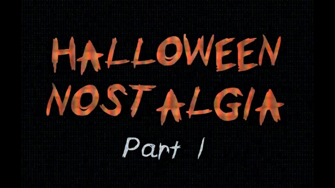 Halloween Nostalgia Part I Vhs Aesthetic Atmosphere