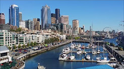 Seattle Waterfront Tour 2015 Downtown Marina Washington State Ferries