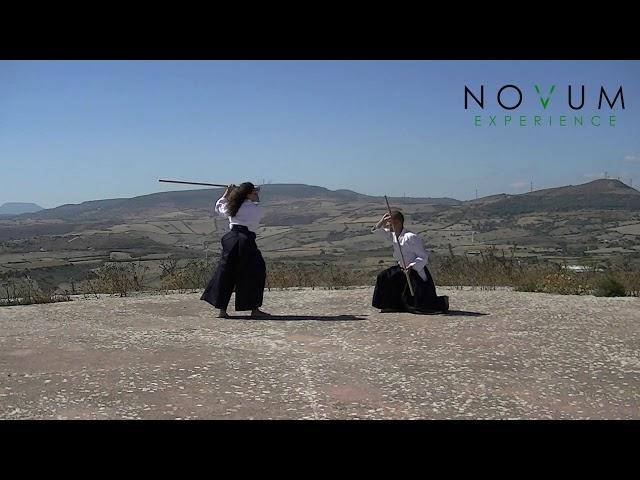 05 Kumi jo go - Aikido Novum Experience - Kumi jo Juppon -  組み杖五 - 組み杖十本  - 合氣道 - 合氣杖