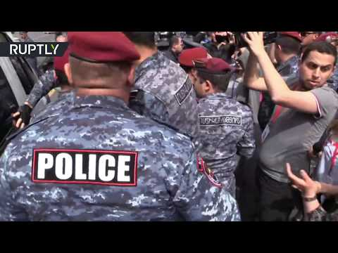 Protests escalate over PM nomination in Armenia, at least 72 arrested