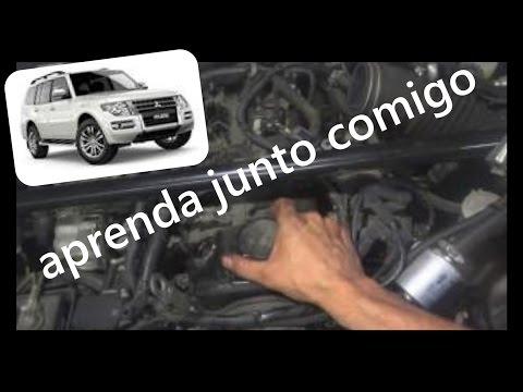 Como trocar a junta da tampa de valvula do motor PAJERO TR4