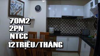 image CHO THUÊ CĂN HỘ BẢY HIỀN TOWER  72M2, 2PN, 2WC NTCC GIÁ 12TR/TH  LH 0917499368