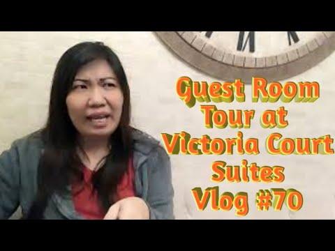 #70 Vlog | Victoria Court Suites | Guest Room Tour & Review |