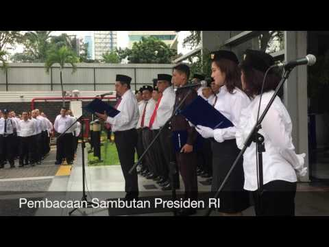 Upacara Peringatan Hari Lahir Pancasila di PT Surveyor Indonesia