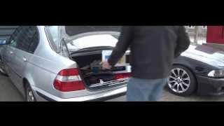 BMW 3 Series E46 rear shocks, struts replacement DIY