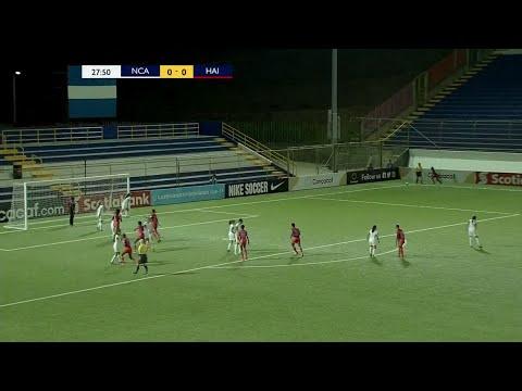 Goal at 28' | Nicaragua vs Haiti