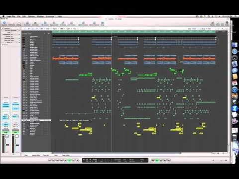 Arrangement and song layout of an electro house song for House music arrangement