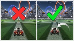 The Difference Between GOOD And BAD Camera Settings In Rocket League