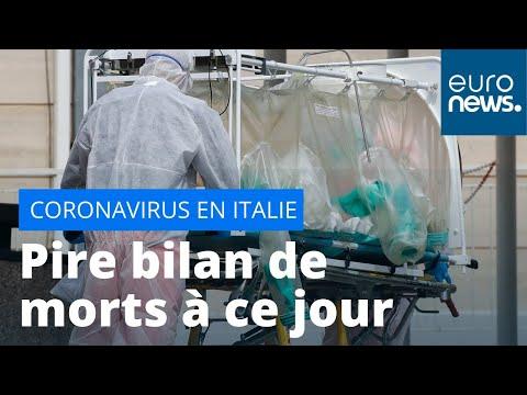 #Coronavirus 475 nouveaux morts en un seul jour, le sinistre bilan de ce mercredi en Italie