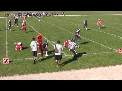 Guelph Commit- Kyle Simms London Highschool Football 2016 QB