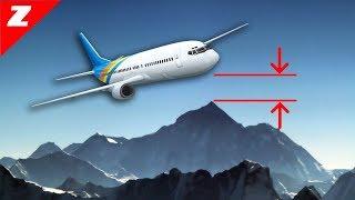 Vì sao máy bay phải bay cao hơn cả đỉnh Everest