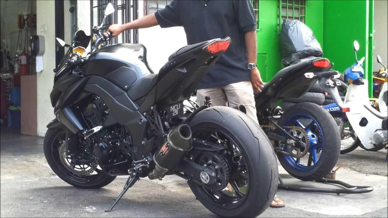 Kawasaki Z1000 Dyno Tuning