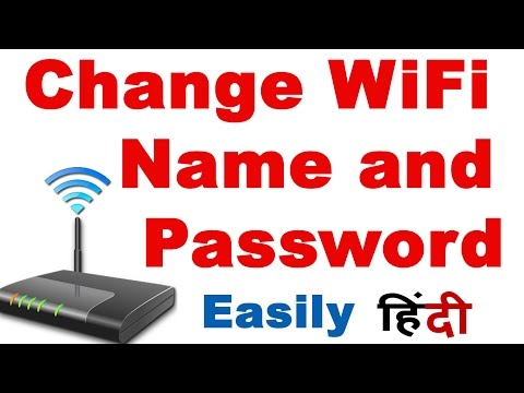 How to change password of airtel wifi