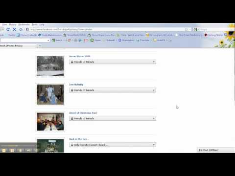 How to set your privacy settings using your friend list