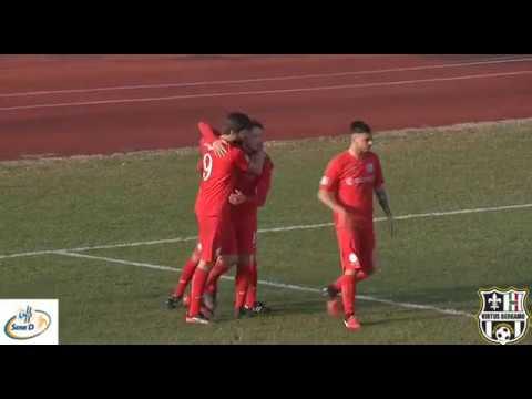 Calcio Romanese-Virtus Bergamo 1909 1-2, 7° giornata di ritorno Serie D Girone B 2017/2018