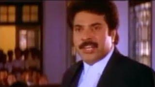 ഇത് കോടതിയാണ് ചോദിച്ചാൽ മാത്രം ഉത്തരം | Mammootty Advocate Movie Scene | Narendra Prasad